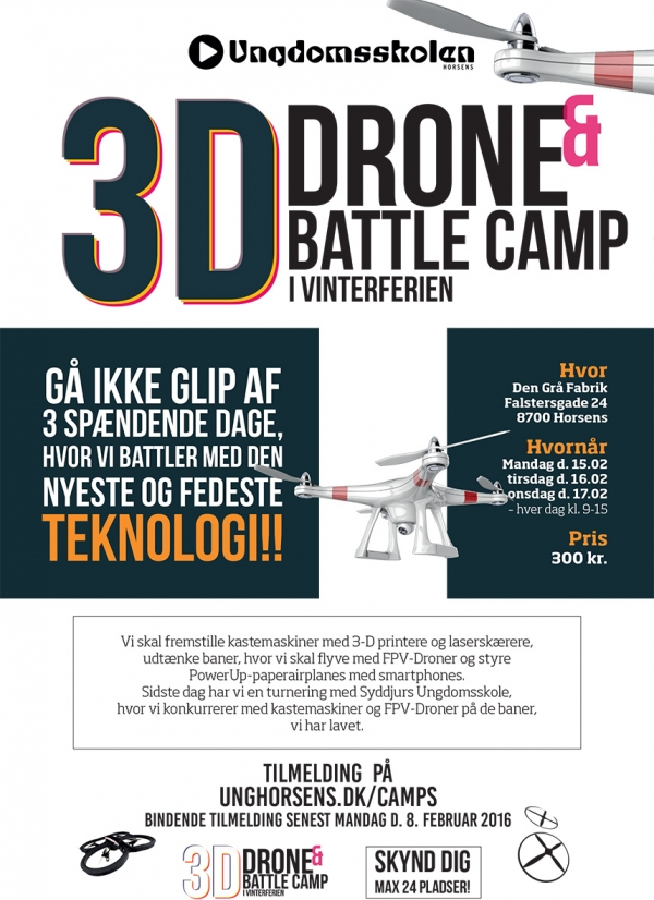 3D Drone & Battle Camp